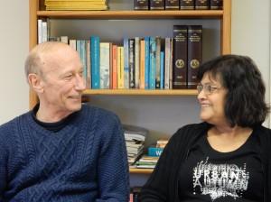Andrew en Joyce bij Huis van Rie