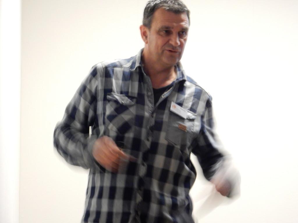 Michel Kokshoorn bij Huis van Rie